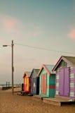 Spiaggia di Brighton, Melbourne Immagine Stock