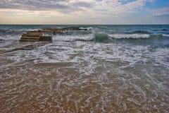 Spiaggia di Budva fotografie stock libere da diritti