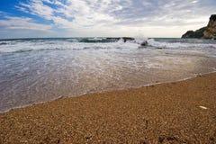 Spiaggia di Budva Fotografia Stock Libera da Diritti