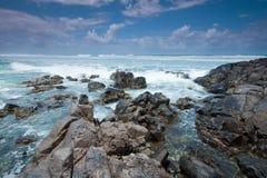 Spiaggia di Cabarita in Australia durante il giorno Immagini Stock Libere da Diritti
