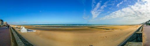 Spiaggia di Cabourg Immagine Stock Libera da Diritti