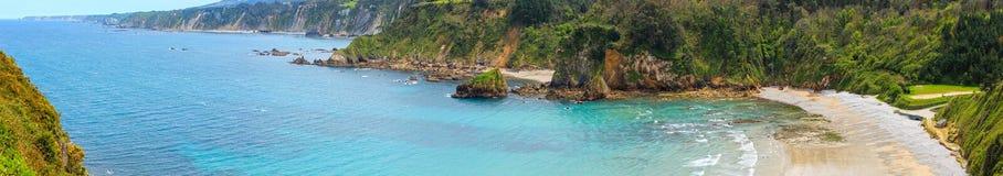 Spiaggia di Cadavedo, Asturie, Spagna Fotografia Stock
