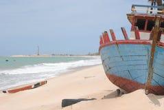 Spiaggia di Caiçara Fotografie Stock Libere da Diritti