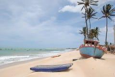 Spiaggia di Caiçara Fotografie Stock