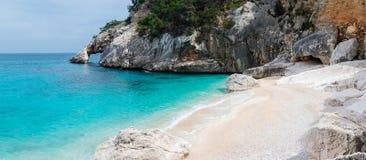 Spiaggia di Cala Goloritze immagini stock