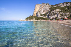 Spiaggia di Cala Luna, Sardinia, Italien Arkivfoton