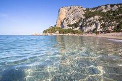 Spiaggia di Cala Luna, Sardinia, Italien Royaltyfria Foton