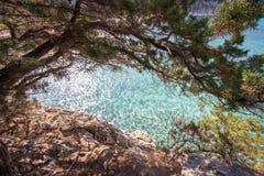 Spiaggia di Cala Luna, Sardinia, Italy Royalty Free Stock Photography