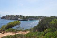 Spiaggia di Cala S Almunia in Maiorca Fotografia Stock