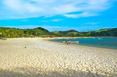 Spiaggia di Calaguas Fotografia Stock Libera da Diritti