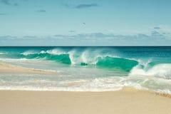 Spiaggia di Capo Verde Immagini Stock Libere da Diritti