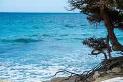 Spiaggia di Carbonara del capo, Villasimius, Cagliari, Sardegna Italia fotografie stock