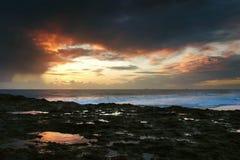 Spiaggia di Carcavelos Fotografia Stock Libera da Diritti