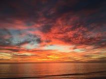 Spiaggia di Carlsbad - Carlsbad, CA Immagini Stock