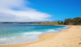 Spiaggia di Carmel Fotografia Stock Libera da Diritti