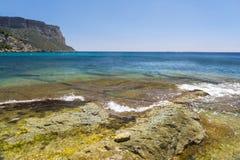 Spiaggia di Cassis Fotografie Stock Libere da Diritti
