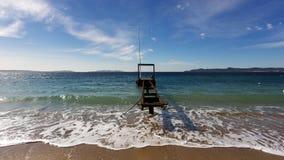 Spiaggia di Cavaliere Fotografia Stock