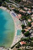 Spiaggia di Cavoli Immagini Stock