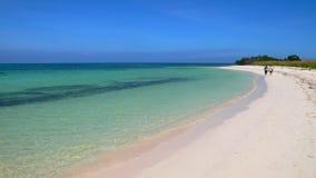 Spiaggia di Cayo Jutias in Cuba. Fotografia Stock Libera da Diritti