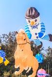 SPIAGGIA di CHA - 9 marzo: quindicesimo festival internazionale dell'aquilone della Tailandia Fotografia Stock