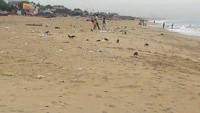 Spiaggia di Chennai fotografia stock