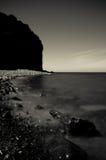 Spiaggia di Clovelly Immagine Stock Libera da Diritti