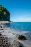 Spiaggia di Clovelly Fotografia Stock Libera da Diritti