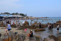 Spiaggia di Co Thach, Vietnam Immagine Stock