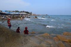 Spiaggia di Co Thach, Vietnam Immagine Stock Libera da Diritti
