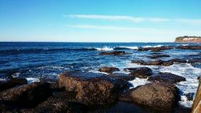 Spiaggia di Collaroy, Nuovo Galles del Sud Immagine Stock