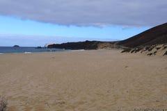 Spiaggia di Conchas, isola di Graciosa Fotografie Stock Libere da Diritti