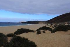 Spiaggia di Conchas, isola di Graciosa Fotografia Stock Libera da Diritti