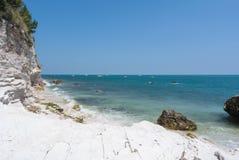 Spiaggia di Conero Immagine Stock Libera da Diritti