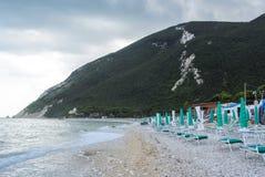 Spiaggia di Conero Fotografia Stock