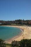 Spiaggia di Coogee a Sydney Immagini Stock Libere da Diritti