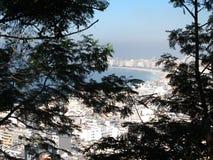 Spiaggia di Copacabana Immagine Stock