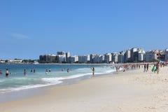 Spiaggia di Copacabana - Rio de Janeiro Immagini Stock Libere da Diritti
