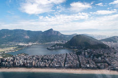 Spiaggia di Copacabana in Rio de Janeiro Immagini Stock Libere da Diritti
