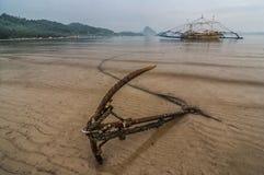 Spiaggia di Corong-corong Immagini Stock