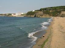 Spiaggia di Costantinopoli, Riva Fotografia Stock