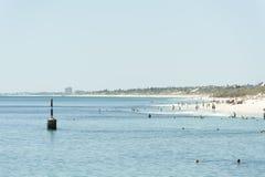 Spiaggia di Cottesloe, Perth, Australia occidentale Immagini Stock Libere da Diritti