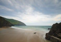 Spiaggia di Coumeenoole fotografia stock libera da diritti