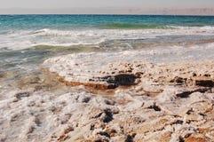 Spiaggia di cristallo Fotografia Stock