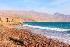 Spiaggia di Dahab Fotografia Stock Libera da Diritti