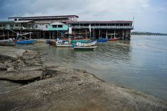 Spiaggia di Danang, Vietnam Immagini Stock
