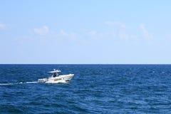 Barca dello sceriffo della contea di Broward Fotografia Stock