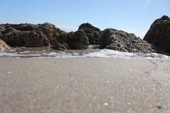 Spiaggia di Deerfield Fotografia Stock Libera da Diritti