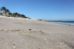 Spiaggia di Deerfield Immagini Stock