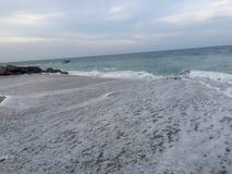 Spiaggia di Deerfield alta Fotografia Stock
