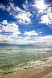 Spiaggia di Destin Florida Fotografia Stock Libera da Diritti